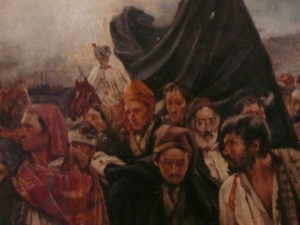 Laureano Barrau, La rendició de Girona (detall), segle XIX