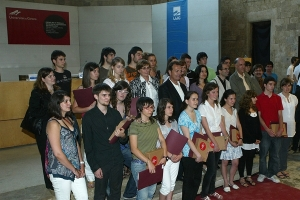Entrega de premis 2009