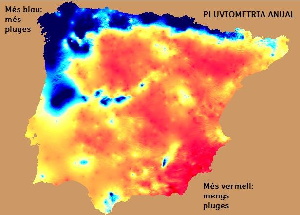 Resultat d'imatges de eLS CLIMES DE LA PENÍNSULA