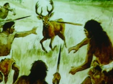Cacera per part de neandertals (foto: Parc de les Coves de Serinyà)
