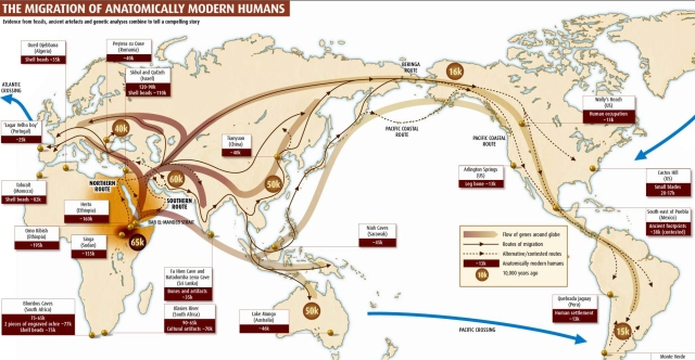 migrationofmodernhumans